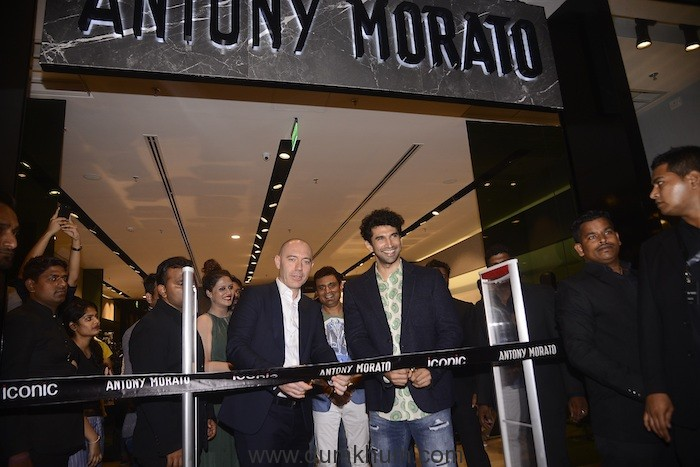 Italian label Antony Morato collaborates with Iconic Fashion to launch their first store