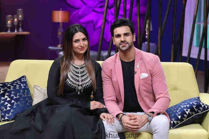 Televisions favourite couple Divyanka Tripathi and Vivek Dahiya on Zee TV's JuzzBatt