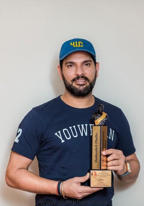 Yuvraj Singh awarded Dadasaheb Phalke Award