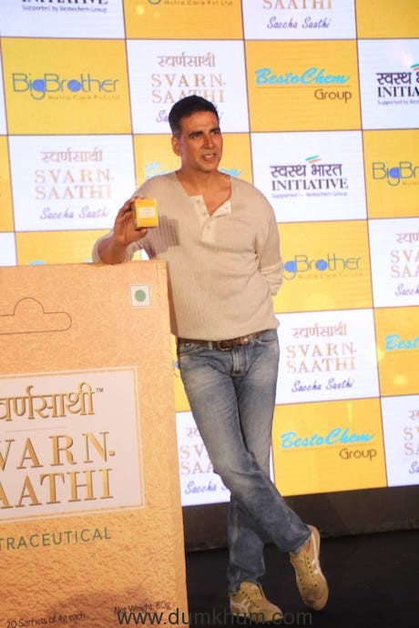 Akshay Kumar said that the audience must understand which celebrity they should follow !