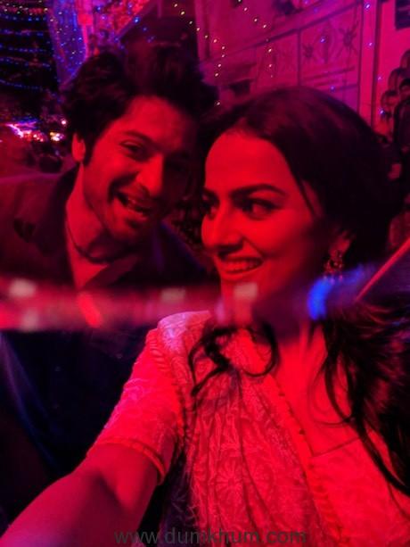 Ali and Shraddha bond on the sets of Milan Talkies -