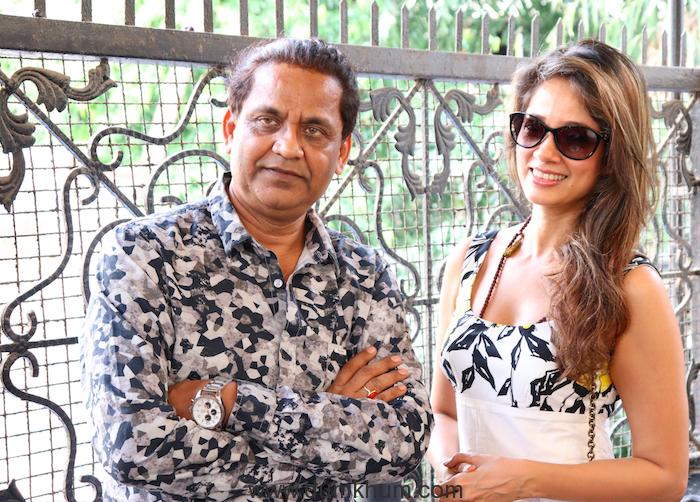 Director Milind Ukey & Actress Vidya Malvade