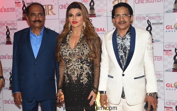 Jyoti Venkatesh, Rakhi Sawant and Ronnie Rodrigues