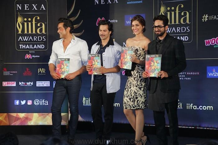 Key Dignatries and stars at the IIFA Mumbai Press Conference (1)