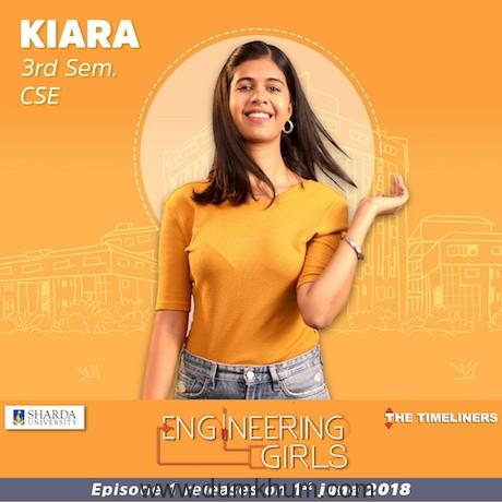 Kiara - ENGINEERING GIRLS