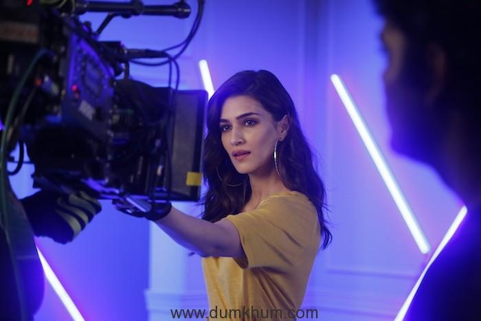 Kriti Sanon spotted at Ms.Taken shoot