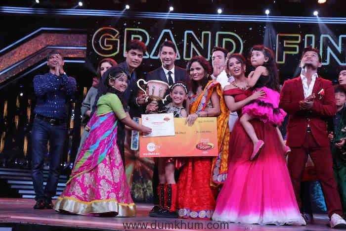 Little 'Patakha' Jiya Thakur emerges victorious on Zee TV's DID Li'l Masters Season 4 (2)