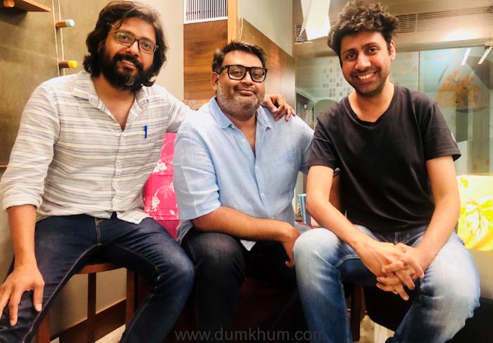 Nikhil Bhat, Shantanu Srivastava and Tanveer Bookwala