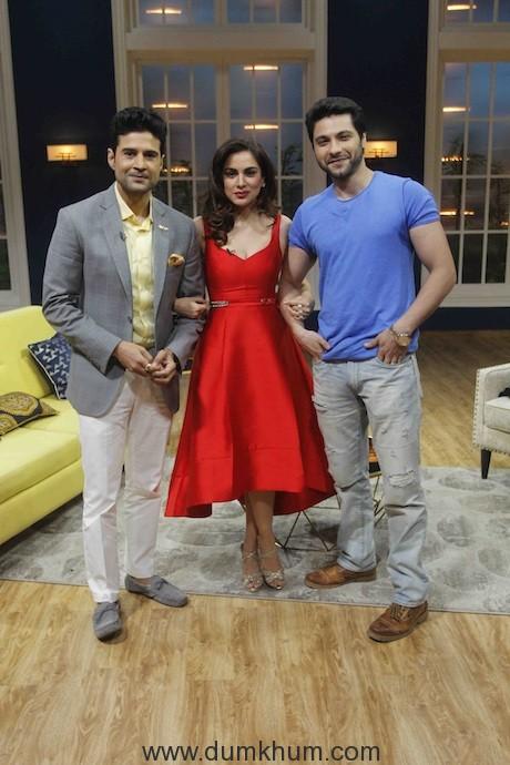 Rajeev Khandelwal, Shraddha Arya and Mishal Raheja on Zee TVs JuzzBaatt