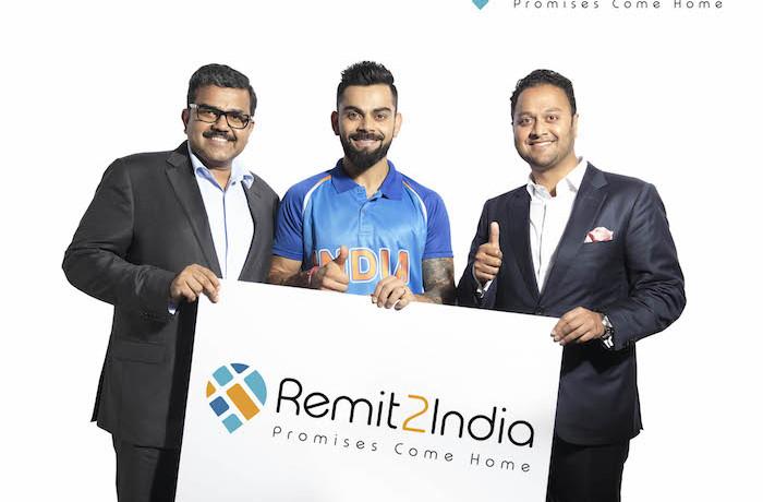 Virat Kohli Brand Ambassador of Online Money Transfer Brand, Remit2India