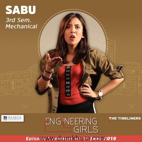 Sabu - ENGINEEERING GIRLS