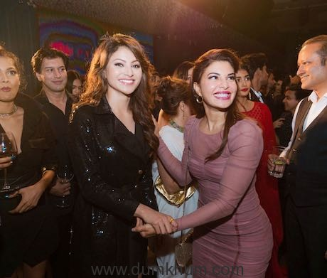 Urvashi Rautela unveils Miss India Finalists at an event