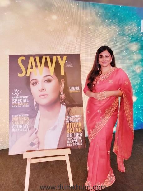 Vidya Balan at Savvy..