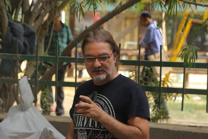 Vinay Pathak at the sets of his upcoming film Axone (2)