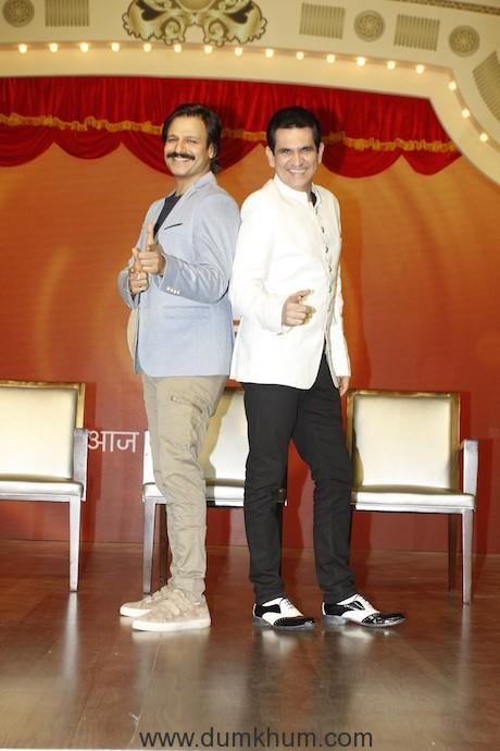 Vivek Oberoi and Omung Kumar at India's Best Dramebaaz Press Conference