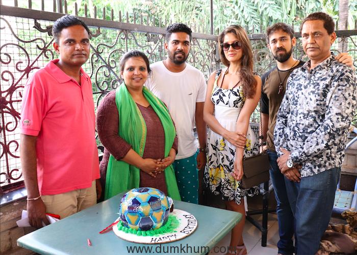 lyricist Deepak Angewar,Singer Megha Sriram Dalton Music Director Saurabh Durgesh ,Vidya Malvade and Director Milind Ukey .JPG