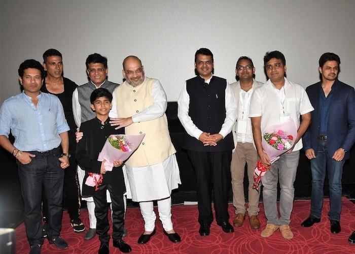 Mahaveer Jain host's a special screening of film ' Chalo Jeete Hain ' in Mumbai & Delhi