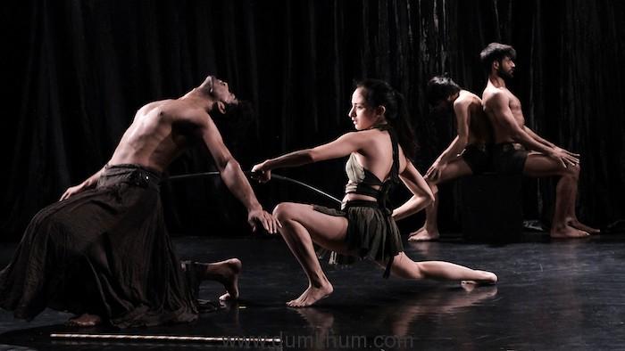 Dancers Perform Agni