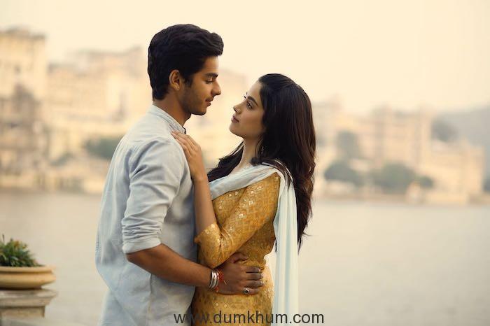 Janhvi and Ishaan learn Mewari for Dhadak