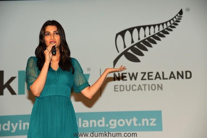 ENZ Brand Ambassador - Kriti Sanon