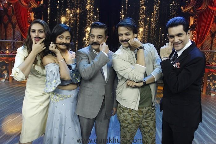 Huma Qureshi, Pooa, Kamal Hassan, Vivek Oberoi and Omung Kumar on India's Best Dramebaaz