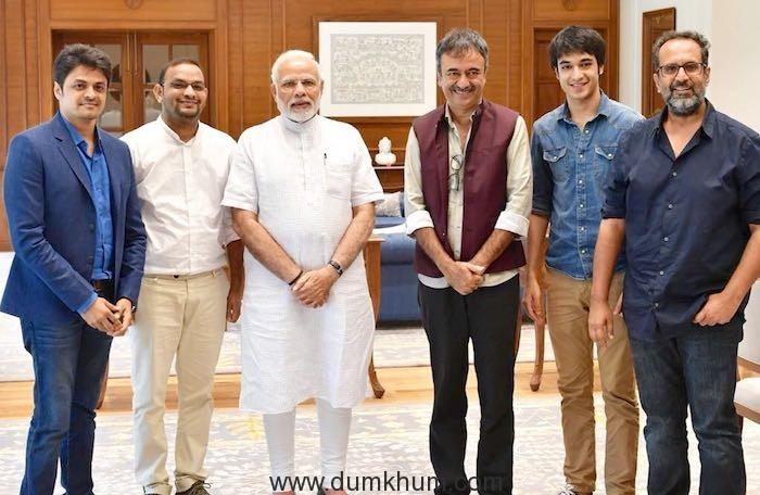 The honorable Prime minister met Rajkumar Hirani, Aanand L Rai & Mahaveer Jain in Delhi