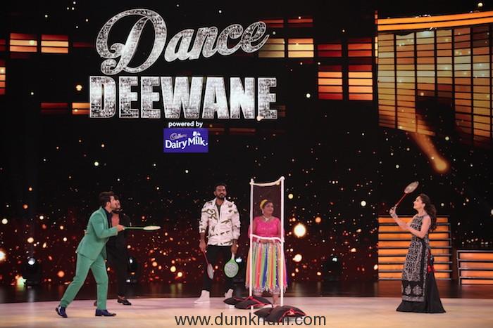 Meenal Dhapre's dream comes true on the sets of Dance Deewane