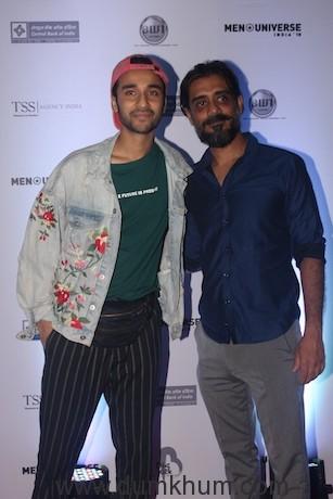 Raghav Juyal with Saurav Sachdeva