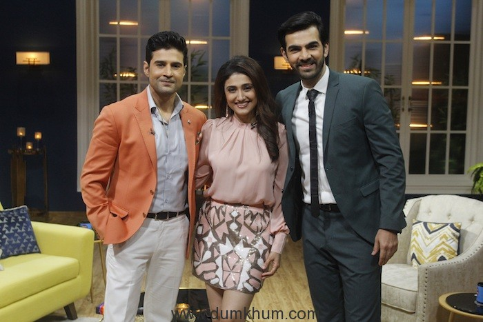 Rajeev Khandelwal, Ragini Khanna and Karan V Grover on Zee TV's JuzzBaatt