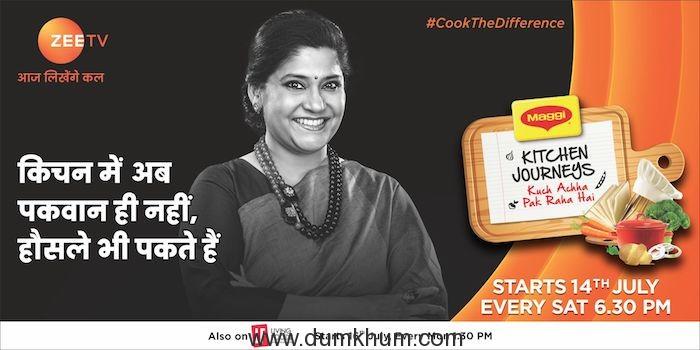 Zee TV and Living Foods  Presents  Maggi Kitchen Journeys