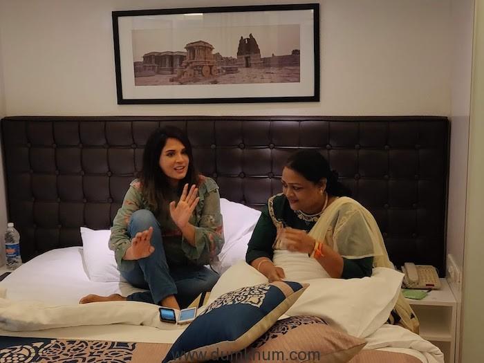 Richa Chadha and Shakeela Khan (2)