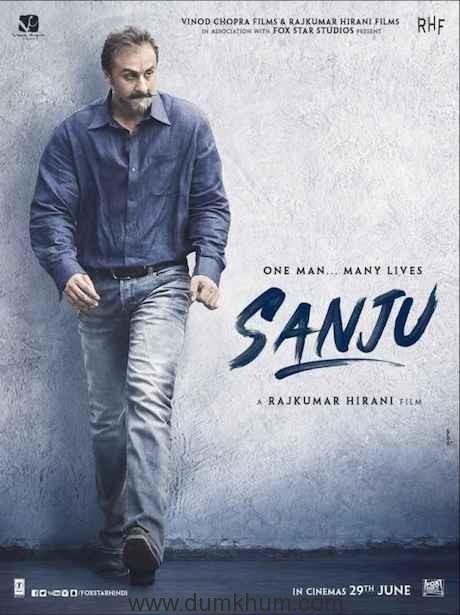 Sanju - Poster