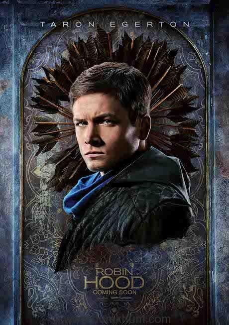 Taron Egerton in & as Robin Hood