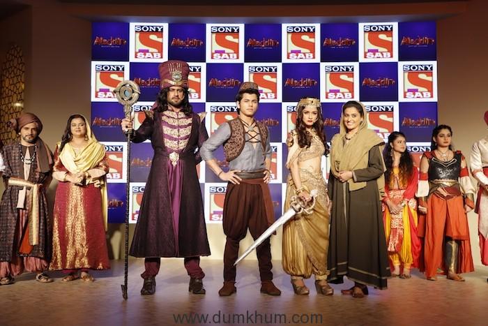 Amir Dalvi as Zafar, Siddharth Nigam as Aladdin, Avneet Kaur as Yasmine ... (1)