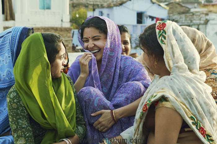 Anushka' s 2 month embroidering coaching for Sui Dhaaga!