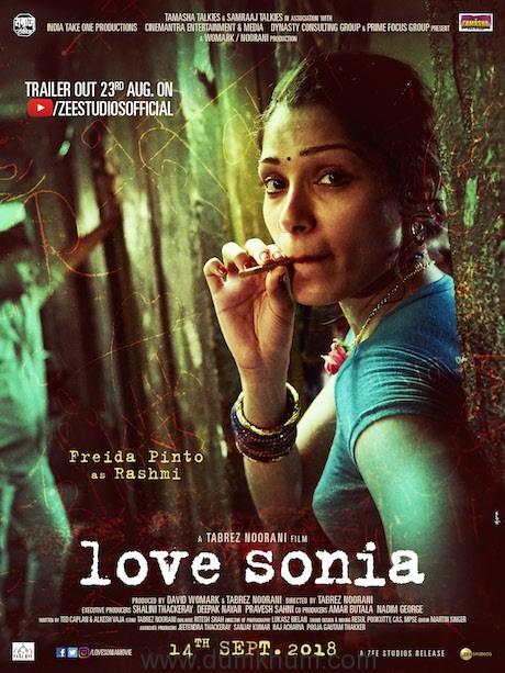 Freida Pinto as Rashmi in Love Sonia