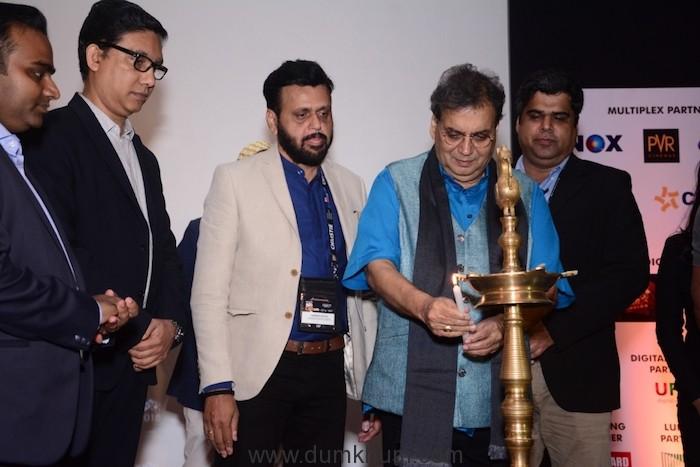 Image 1_Sri Subhash Ghai inaugurating the Big Cine Expo 2018