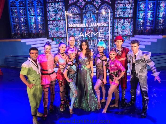 Cirque du Soleil BAZZAR open Lakmé Absolute Grand Finale with an awe-inspiring spectacle
