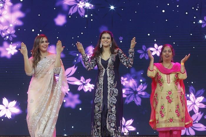 Kajol dancing with Huma Qureshi on India's Best Dramebaaz (1)