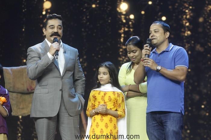 Kamal Haasan Sings 'Surmayi Ankhiyon Mein' on India's Best Dramebaaz