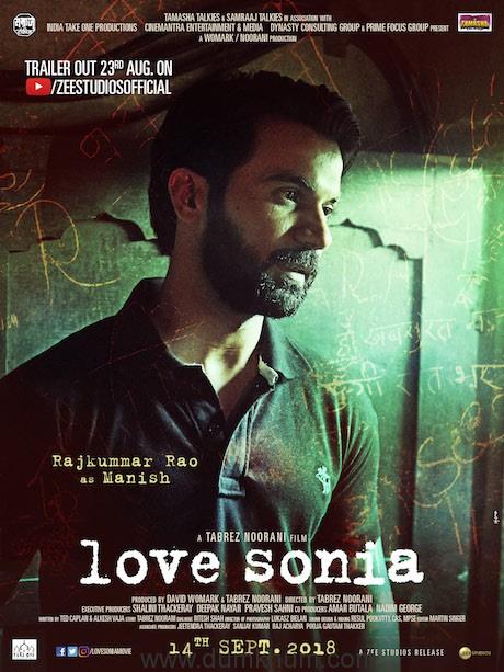 Rajkumar Rao as Manish in Love Sonia