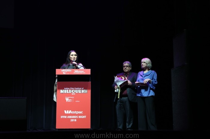 Rani Mukerji Wins the Best Actress Award for Hichki and the 'Excellence in Cinema' Award at Indian Film Festival of Melbourne-1