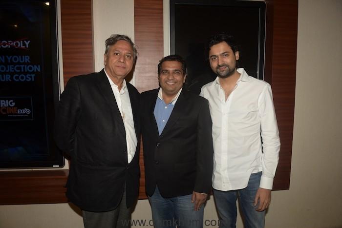 Ranjit Thakur (Founder & President of Krian Media) with Friends