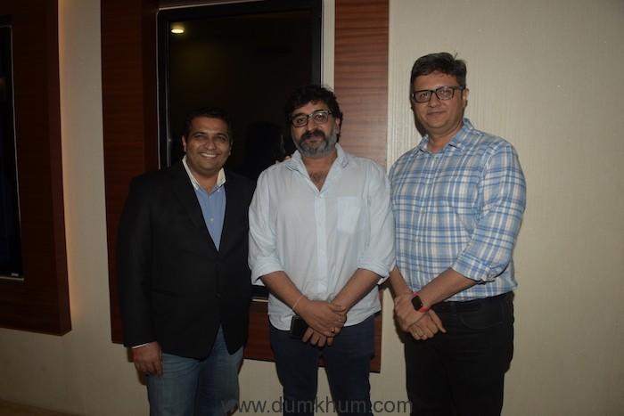 Ranjit Thakur (Founder & President of Krian Media) with Neeraj Goswamy (Viacom 18)