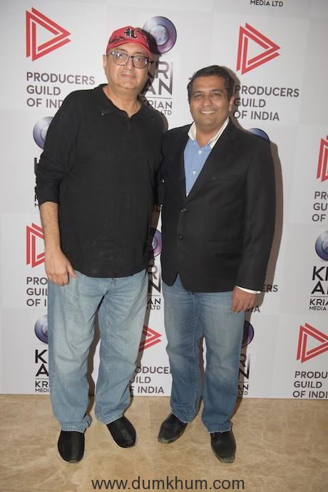 Ranjit Thakur (Founder & President of Krian Media) with Vivek Vaswani