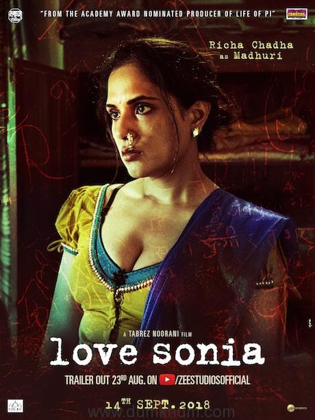 Richa Chadha as Madhuri in Love Sonia