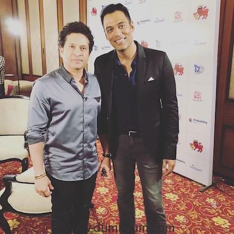Sachin Tendulkar and Samir Kochar