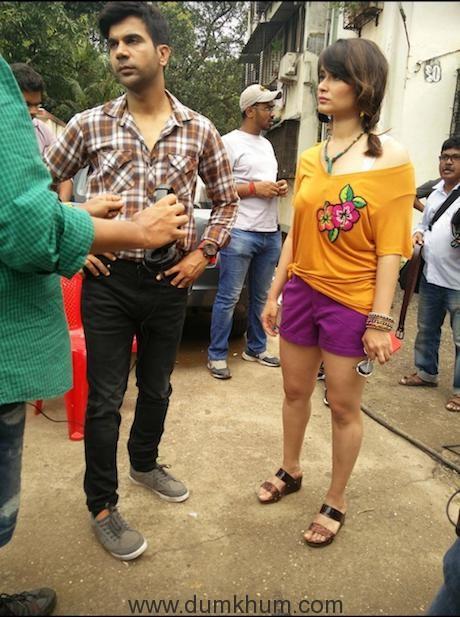 Swati Semwal with Raj Kumar Rao