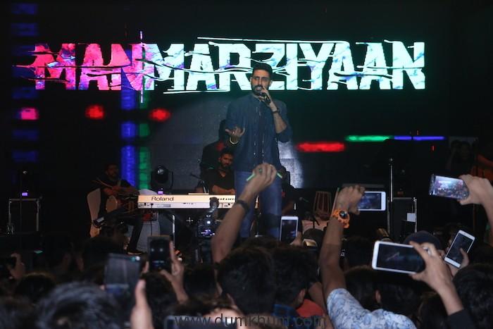 The Manmarziyaan concert tour flags off in Mumbai-