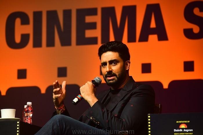 Abhishek Bachchan, Rohit Shetty, Ekta Kapoor at the Jagran Cinema Summit !